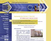 Interreg case nemzetközi portál weboldala