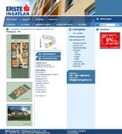 Erste portál lakás bemutató weboldala