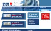 Erste portál nyitó webdesign