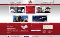 multialarm, magicon, rgstudio, weboldal, honlap, honlap készítés