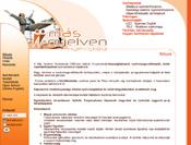 Más nyelven nyelviskola webolalának webdesignja