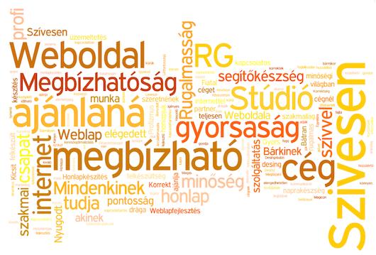 RG Stúdió vevői vélemények
